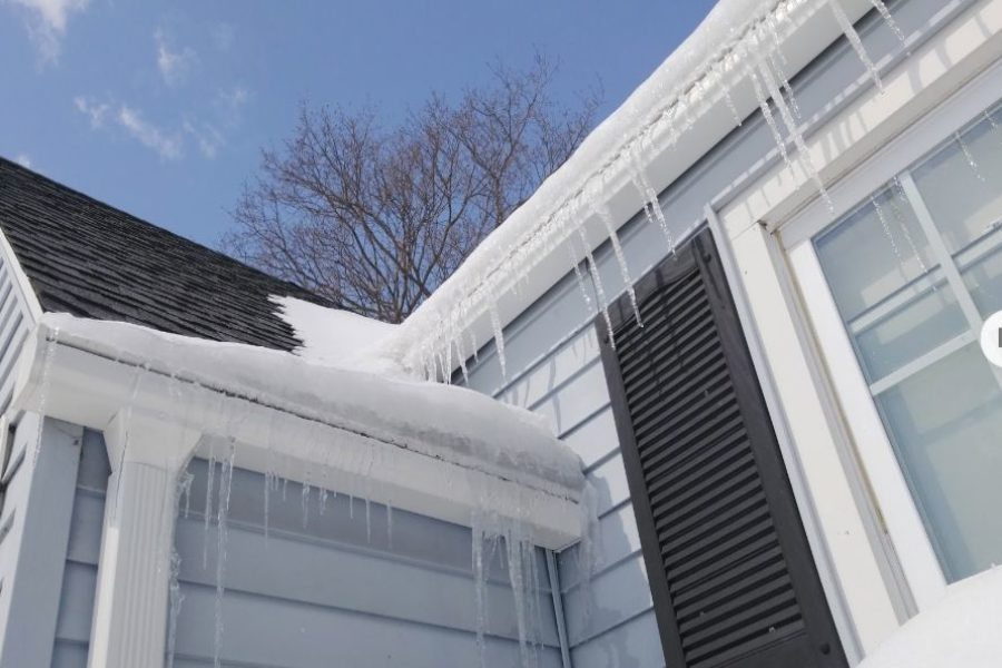 How to Deal with and Prevent Ice Dams